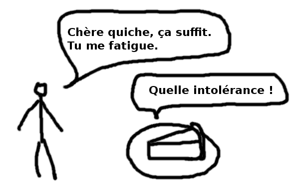 intolérance quiche - comic