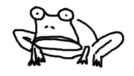 endocrine disruptors study on frogs - comic