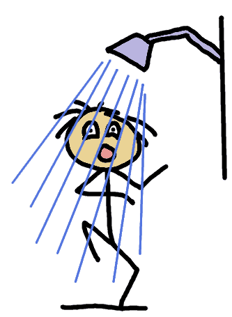 cold shower - comic