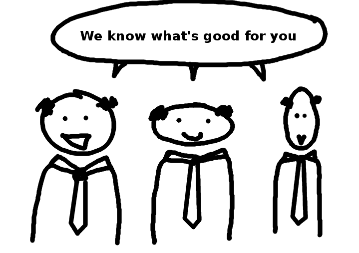 we know what is good for you - comic