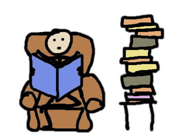 Reading books - comic